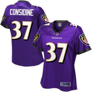 Pro Line Womens Baltimore Ravens Sean Considine Team Color Jersey