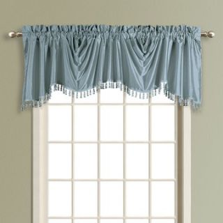 United Curtain Anna Lined Faux Silk Austrian Valance   Valances