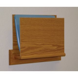Wooden Mallet Open End Chart Holder   Commercial Magazine Racks