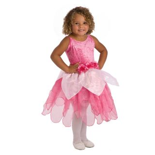 Little Adventures Hot Pink Tulip Fairy Costume   Pretend Play & Dress Up