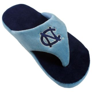 Comfy Feet NCAA Comfy Flop Slippers   North Carolina Tarheels   Mens Slippers
