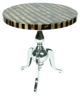 Rojo 16 Cote D'Azure Table   Horn   End Tables