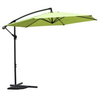 International Caravan Mesa 9.5 ft. Aluminum Cantilever Patio Umbrella   Patio Umbrellas