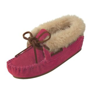 Minnetonka Childrens Charley Bootie Slipper   Hot Pink   Kids Slippers
