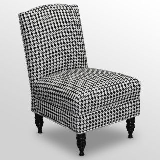 Nail Button Chair   Berne Black & White   Accent Chairs