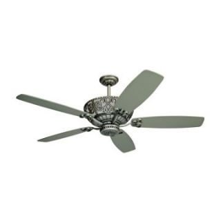 Yosemite Home Decor QUEENIE2 AP Queenie 60 in. Indoor Ceiling Fan   Antique Pewter   Ceiling Fans