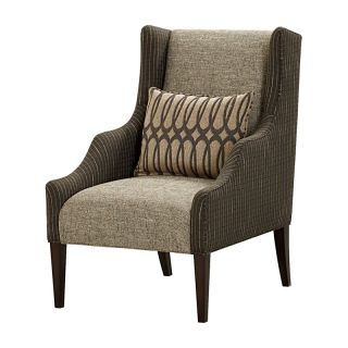 A.R.T. Furniture Harper Wing Chair   Mineral   Upholstered Club Chairs
