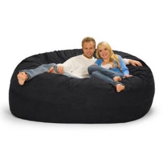 Relax Sack 7 ft. Microsuede Foam Bean Bag Sofa   Bean Bags