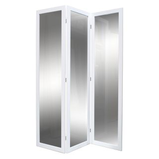 Screen Gems Mirrored Room Divider   50W x 69H in.   Room Dividers
