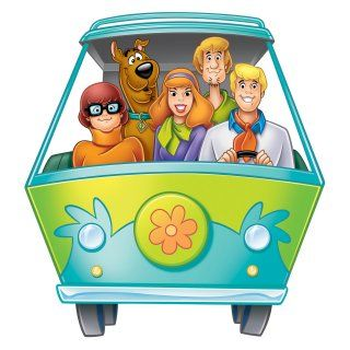 Scooby Doo Peel and Stick Giant Wall Decal   Wall Decals