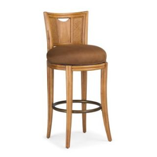 American Drew Antigua Round Swivel Bar Stool   Bar Stools