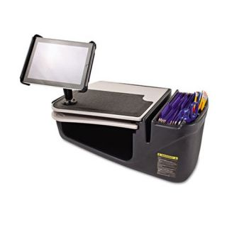 AutoExec 10004 Car Desk with Desktop Supplies Organizer   Office Desk Accessories