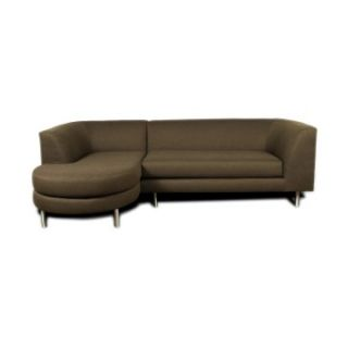 Lazar Colby Microfiber Sectional Sofa   Sectional Sofas