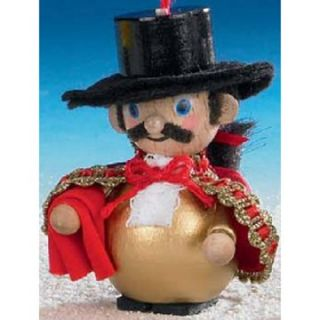Steinbach Spanish Dancer Wood Christmas Ornament   Nutcrackers