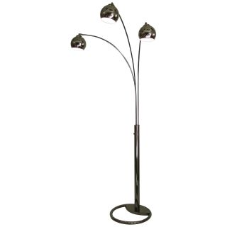 Nova Lighting 8051 Triplet 3 Light Arc Floor Lamp   Floor Lamps