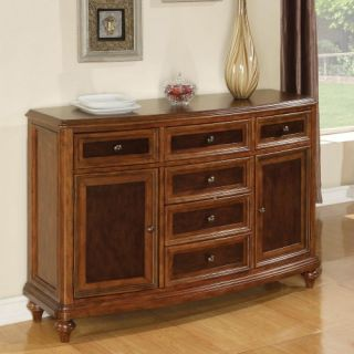Brendon Marble Top Dining Buffet   Dining Accent Furniture