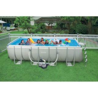 Intex 18 x 9 Ultra Frame Pool   Swimming Pools & Supplies