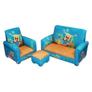 Nickelodeon Spongebob Squarepants 3 Piece Toddler Set   Kids Arm Chairs