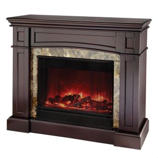 Real Flame Bentley Electric Fireplace   Espresso   Electric Fireplaces