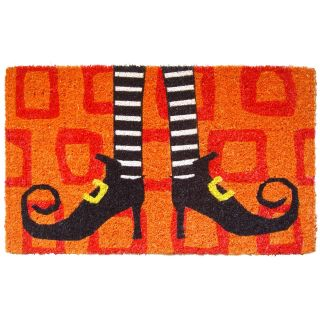 Wicked Witch Shoes Hand Woven Coconut Fiber Doormat   Outdoor Doormats
