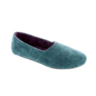 Kiki Womens Slip on Slippers by Daniel Green   Teal   Womens Slippers