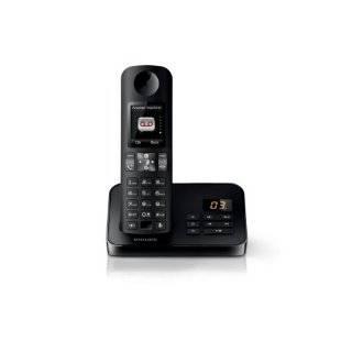Philips D6051B/38 Schnurloses Telefon DECT schwarz Elektronik