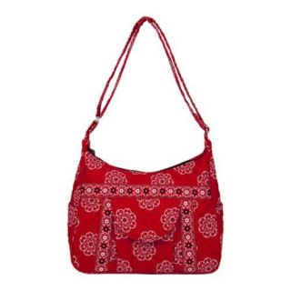 Women's Stephanie Dawn Cross Body Cargo 10042 America Red Stephanie Dawn Hobo Bags