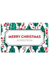 Merry Christmas 2013 Gift Card