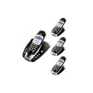 AEG/ITM Ventura black 50 Voice Quattro Set Telefon + AB Elektronik