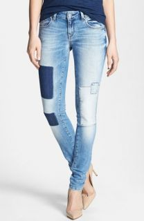 Mavi Jeans Serena Ankle Super Skinny Jeans (Light Patch Out)