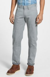 Naked & Famous Denim Weird Guy Slim Fit Selvedge Jeans (Arctic Selvedge)