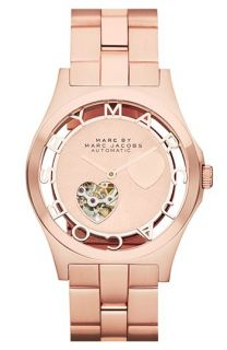 MARC BY MARC JACOBS Henry Icon Bracelet Watch, 40mm