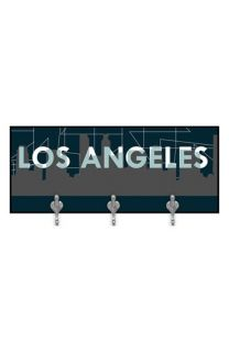 Green Leaf Art Los Angeles Multi Hook Wall Mount Rack