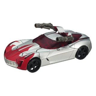 TRANSFORMERS*HUNT FOR THE DECEPTICONS*Autobot Sidearm Sideswipe*Deluxe Class   Level 3*Figur ca. 16cm *OVP: Spielzeug
