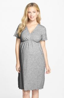 Japanese Weekend Surplice Maternity/Nursing Nightgown