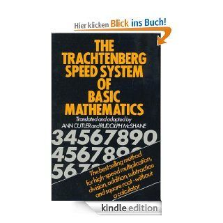 The Trachtenberg Speed System of Basic Mathematics eBook: Jakob Trachtenberg, R. McShane, A. Cutler: Kindle Shop