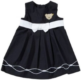 Steiff Baby M�dchen Kleid 6233208, Gr. 68, Blau (3032): Bekleidung