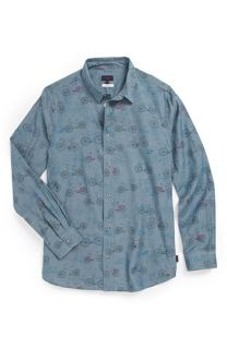 Paul Smith Junior Graphic Print Chambray Shirt (Little Boys & Big Boys)