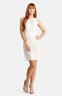 Donna Morgan Daisy Lace Sheath Dress
