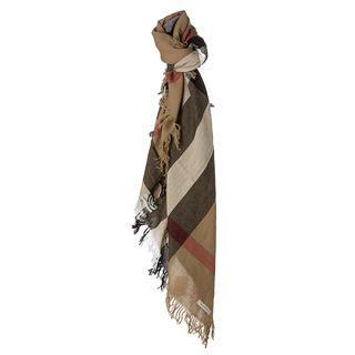 Burberry House Check Wool Square Scarf Burberry Designer Scarves & Wraps