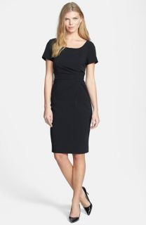 Weekend Max Mara Mochi Drape Front Dinner Dress