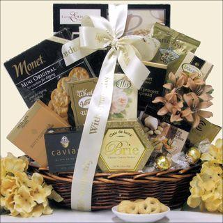 In Loving Memory Sympathy Gift Basket Gourmet Food Baskets