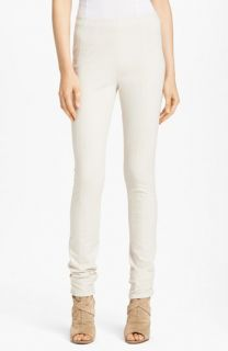 Donna Karan Casual Luxe Seamed Leggings