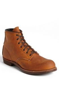Red Wing Round Toe Boot