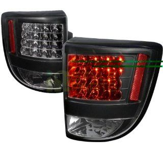 00 05 Toyota Celica Led Tail Lights   Black Automotive
