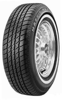 P185/80R13 Maxxis MA 1 90S WW White Wall Tire: Automotive