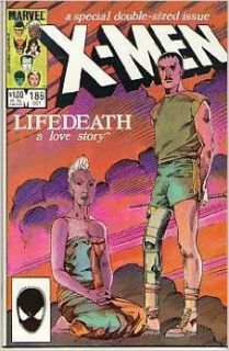 The Uncanny X Men #186 : Lifedeath: A Love Story (Uncanny X men): Chris Claremont, Barry Windsor Smith: Books