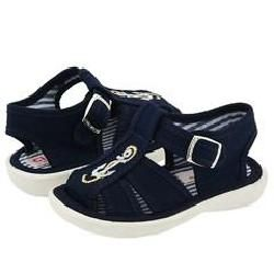 Cienta Kids Shoes 14 07177 (Infant/Toddler) Navy Sandals Cienta Kids Shoes Sandals