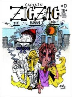 Captain Zig Zag / Black Lungs the Cat: Shane White: 9781598581959: Books