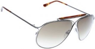 Tom Ford TF 193 Sunglasses Gunmetal 10P: Clothing